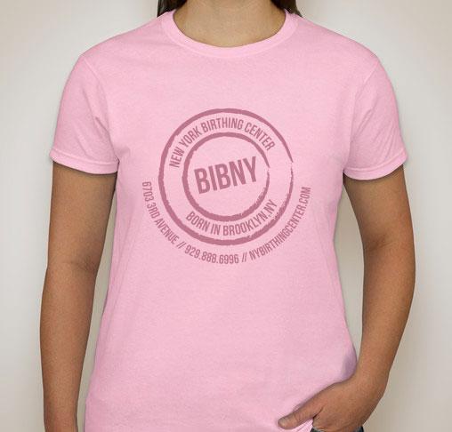 d1953bbb Born in Brooklyn BIBNY Pink Short Sleeved Cotton T-Shirt