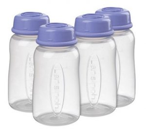 Storing breastmilk