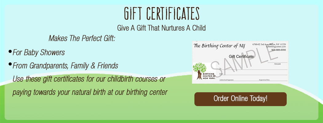 Birth certificates make great gifts!