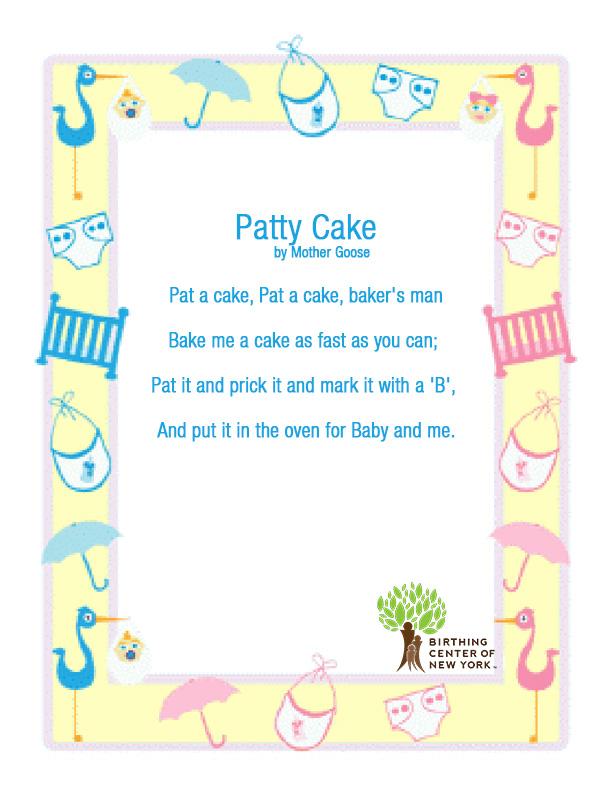Patty Cake Or Pat A Cake