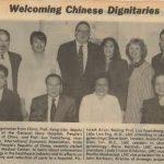Dr. Lisa Eng welcomes Chinese dignitaries