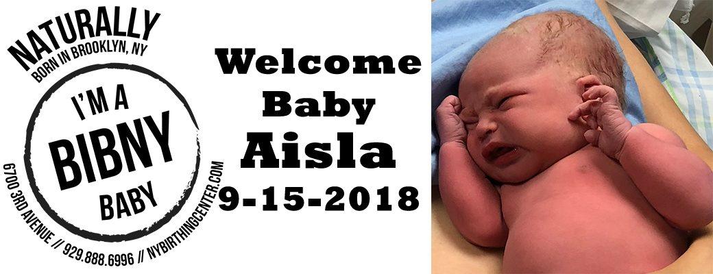 Baby Aisla banner 9-15-18