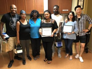 Our September 2018 Birthing class graduates
