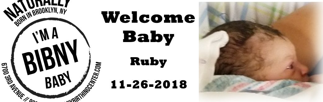 Baby Ruby 11-26-2018