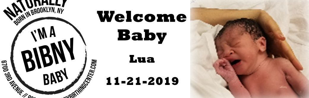 Baby Lua born 4-21-2019 at the bcny