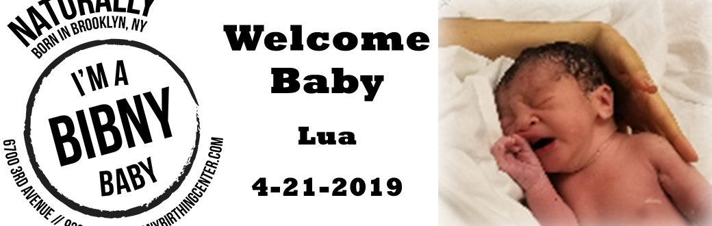 welcome baby lua to the world