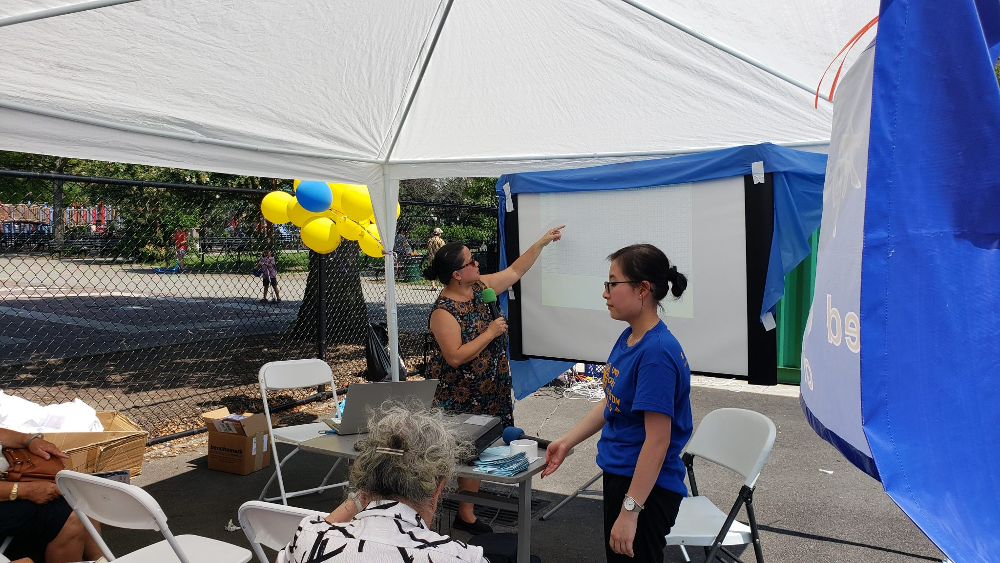Dr Eng speaks at the 2019 Wellness & Family Day
