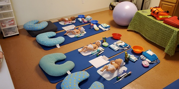Classsroom at The Birthing Center of NY