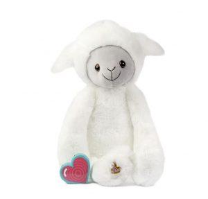 My Baby's Heartbeat Bear Vintage Lamb