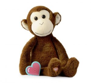 My Baby's Heartbeat Bear Vintage Monkey