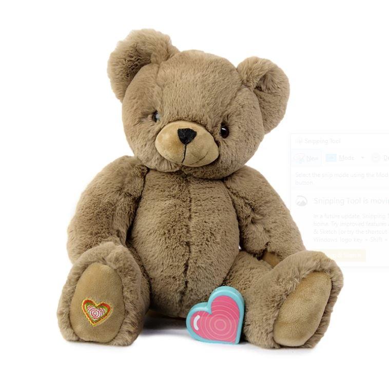 My Baby's Heartbeat Cocoa Bear