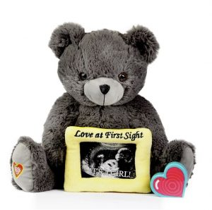 My Baby's Heartbeat Gray Love Bear Kit