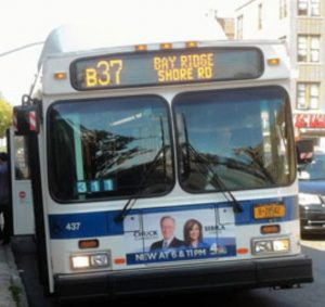B37 Brooklyn Bus