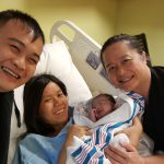 baby ivy delivered at the birthing center