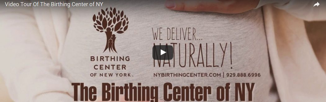 Video Tour of the Birthing Center of NY!