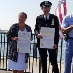 Dr. Lisa Eng receives citation from Brooklyn Borough President Eric Adams