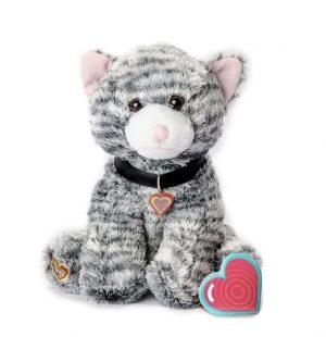 My Baby's Heartbeat Bear Gray Kitty