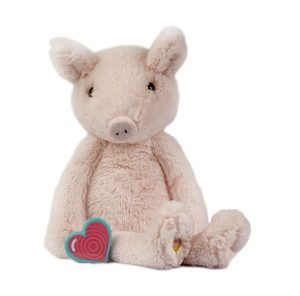 My Baby's Heartbeat Bear Vintage Pig