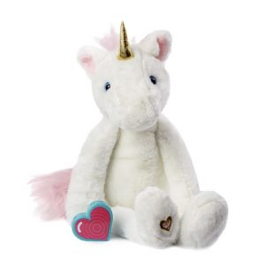 My Baby's Heartbeat Bear Vintage Unicorn