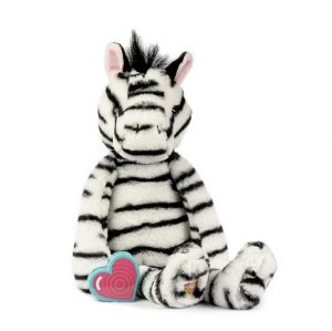 My Baby's Heartbeat Bear Vintage Zebra