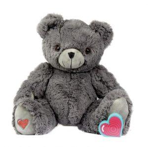 My Baby's Heartbeat Bear Gray Bear