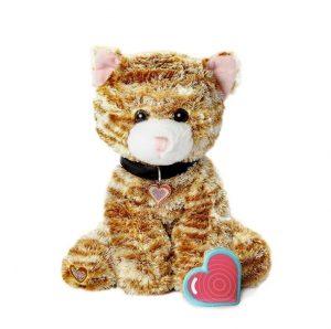 My Baby's Heartbeat Bear Orange Kitty