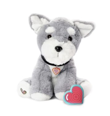 My Baby's Heartbeat Bear Schnauzer Puppy