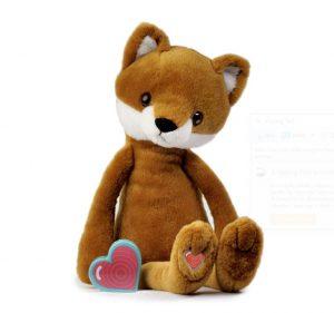 My Baby's Heartbeat Bear Vintage Fox