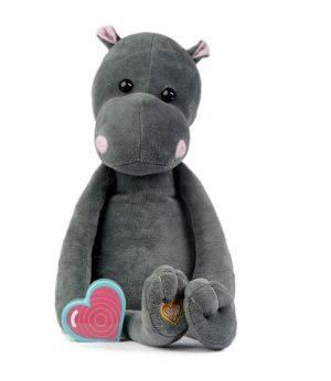 My Baby's Heartbeat Bear Vintage Hippo