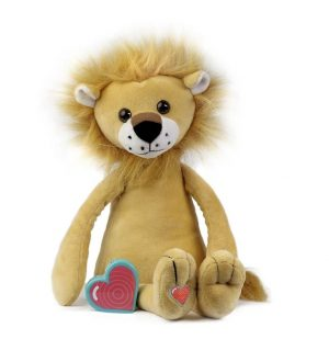 My Baby's Heartbeat Bear Vintage Lion