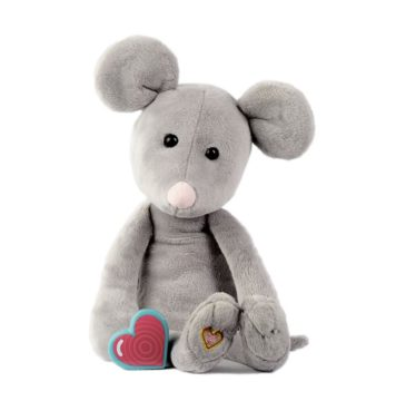 My Baby's Heartbeat Bear Vintage Mouse