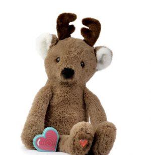 My Baby's Heartbeat Bear Vintage Reindeer Buck