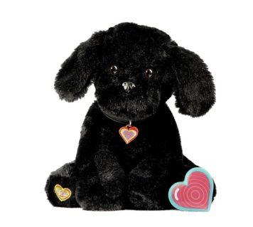My Baby's Heartbeat Bear Black Puppy