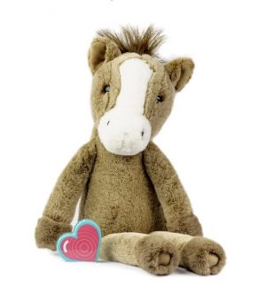My Baby's Heartbeat Bear Vintage Horse