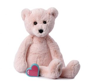 My Baby's Heartbeat NEW Vintage Pink Bear