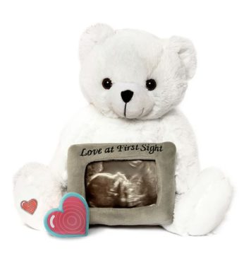 My Baby's Heartbeat White Love Bear Kit
