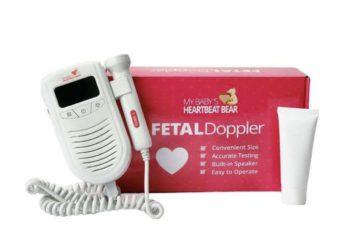 Heartbeat Bear Fetal Doppler