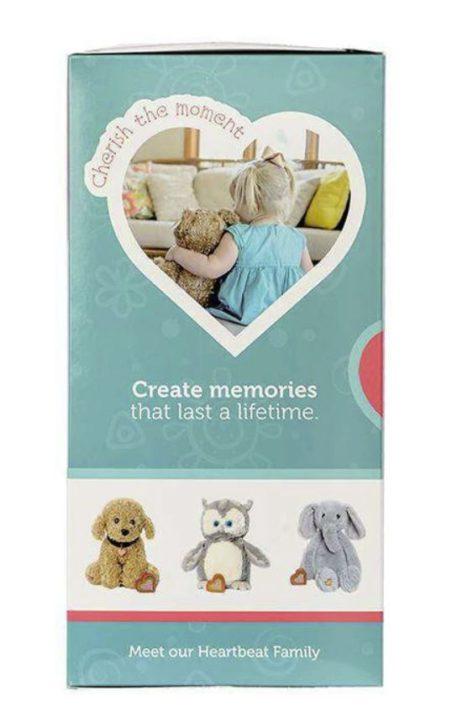 My Baby's Heartbeat Bear Gift Box Side-2