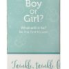 Heartbeat Bear Gender Reveal Box Girl or Boy