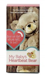 Heartbeat Bear Gender Reveal Box
