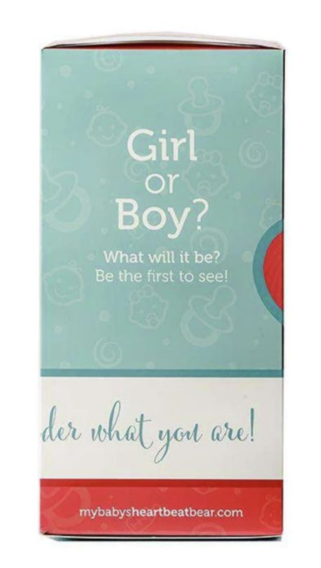 Heartbeat Bear Gender Reveal Box: What will it be?