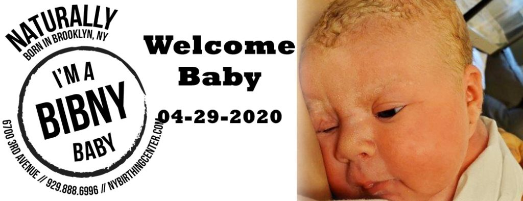 welcome baby 4-29-20