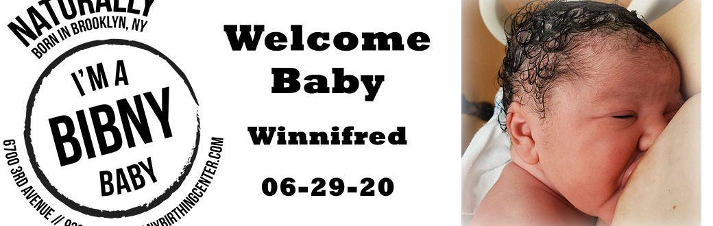 Baby winnifred 6-29-20