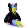 My Baby's Heartbeat Bear Vintage Black Unicorn back