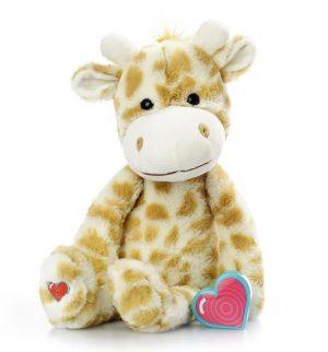 My Baby's Heartbeat Bear Vintage Giraffe
