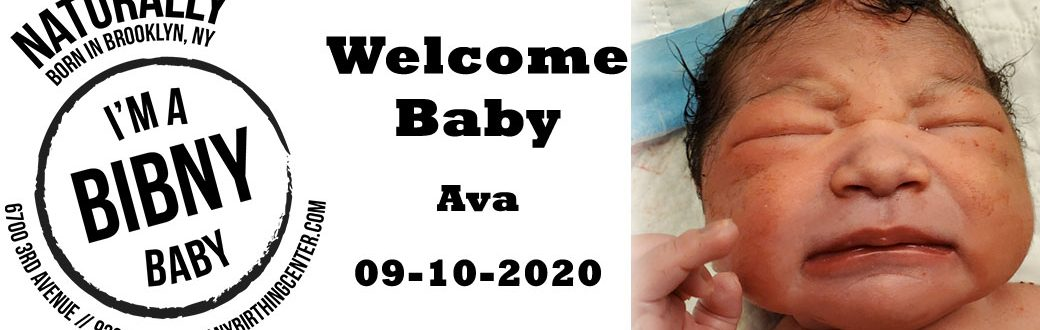 welcome baby ava 9-10-20